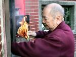 台湾のおみくじ: 燃やす