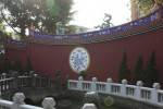 孔子廟: 裏側の壁面