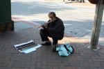 孔子廟: 管楽器奏者