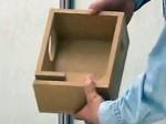 A&Vフェスタ2009: スピーカー親子工作教室: 5枚貼り合わせ