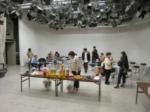 NHK 控室用スタジオ