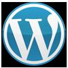 WordPress Blue Logo: 100x100