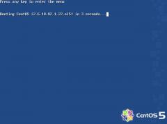 CentOS 5.2: ブート画像