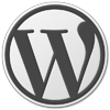 WordPress Grey Logo: 100×100