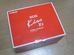EOS Kiss X3: Wズームキット: 箱外側