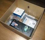 Twotop PC: 付属品と各パーツの箱