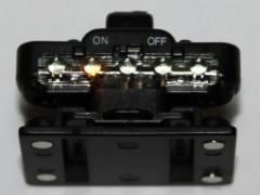 アクションレベルサウンド: LED