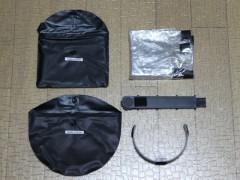 エツミ レインウェア E-6214: 袋から出したところ