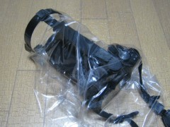 エツミ レインウェア E-6214: レインウェアー装着 (アーム短縮)