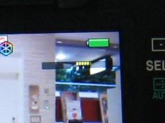 ペンタックス K-7: 電子水準器: ライブビュー時のゲージ表示: 拡大