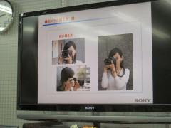 ヨドバシカメラ: 一眼レフカメラ講座: カメラの構え方
