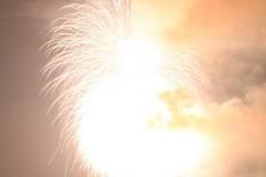 花火: 明るすぎる: 55mm