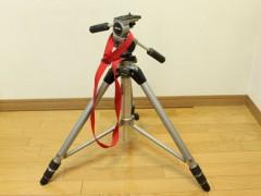 SLIK グランドマスター: 脚を広げたところ: EOS Kiss X3: プログラムAE 1/6sec F3.5 評価測光 EV+1 ISO200 23mm EF-S18-55mm