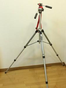 SLIK グランドマスター: 首を伸ばしたところ: EOS Kiss X3: 絞り優先AE 1/25sec F7.1 評価測光 EV+1 ISO1600 34mm EF-S18-55mm WB:白熱電球