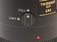 TAMRON SP AF 90mm F/2.8 272E: フォーカスリミッター