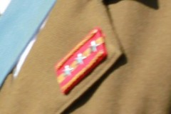 靖国神社: 曹長の襟章