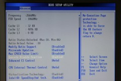 AMI BIOS: Execute Disable Function: Enabled