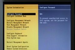 VMware ESXi: System Customization