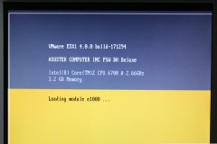VMware ESXi: Loading module e1000