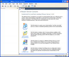 VMware Server Console (VMware Server 1.0)