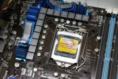 ASUS P7P55D: LGA1156 ソケット: ソケットキャップ