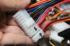 LW-6550HG: 20 + 4ピン PSU コネクタ