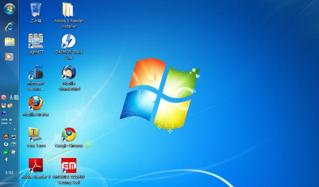 Eee PC 901-X: Windows 7 インストール完了