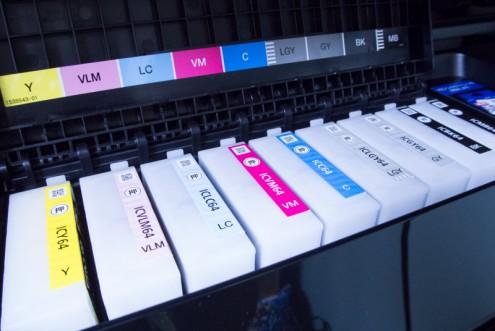 EPSON PX-5V: インク: セットアップ状態