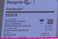 Seagate ST3000DM001: ラベル