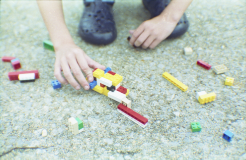 Lego Crash Landing