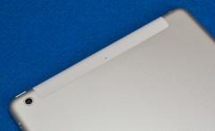 iPad Air: iPad (2012年モデル): 裏面アンテナ部