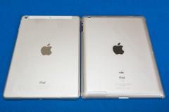 iPad Air: iPad (2012年モデル): 裏面