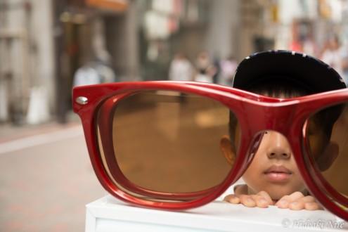 都会の色メガネ