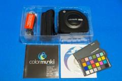 Colormunki Photo: パッケージ一式