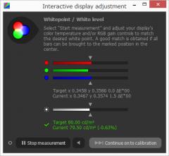 dispcalGUI: Interactive Display Adjustment