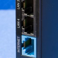 Buffalo WSR-1166DHP: 有線 LAN ポート (INTERNET / LAN)