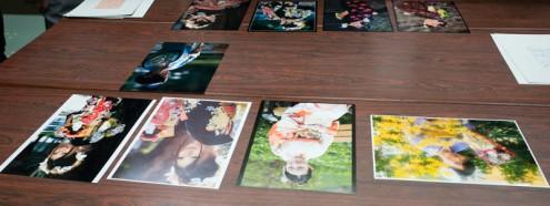 全東京写真連盟 公開審査: 芝公園審査中