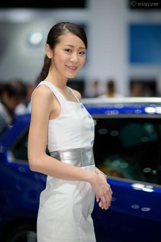 東京モーターショー 2015: 女性コンパニオン: Volkswagen