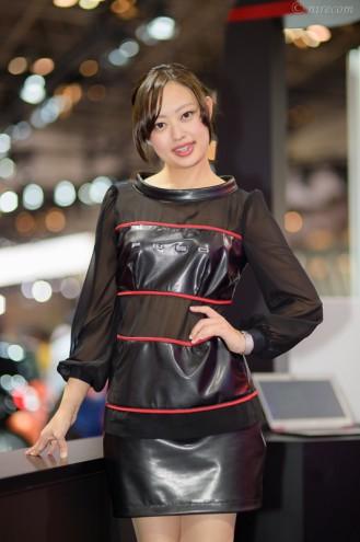 東京モーターショー 2015: 女性コンパニオン: FUSO