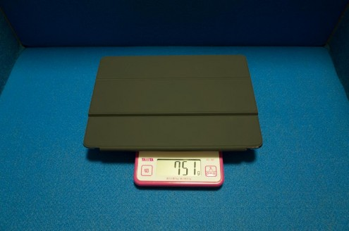 iPad Pro 9.7インチ +Smart Keyboard + Elecom シェルカバー TB-A16PV2CR 重量