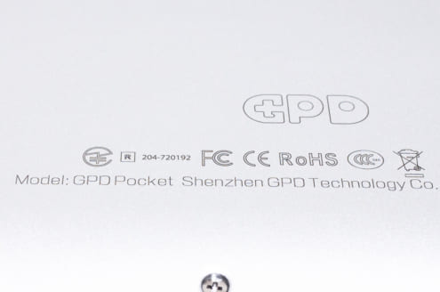 GPD Pocket: 技適マーク
