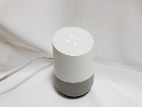 Google Home: リスニング中