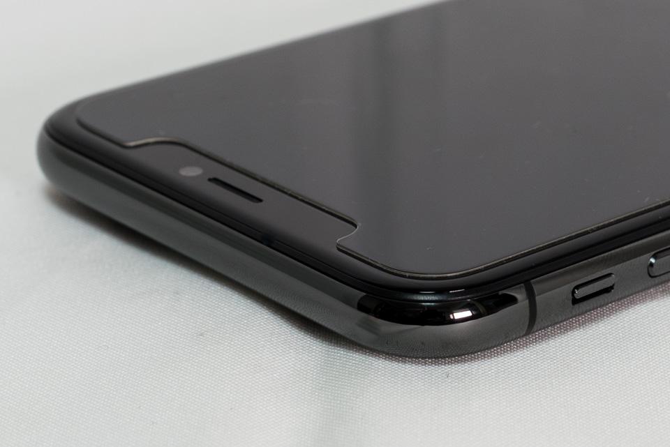 iPhone 7 Plus vs. iPhone X: 前面左上角