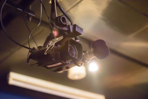 Abema TV 設置のカメラ