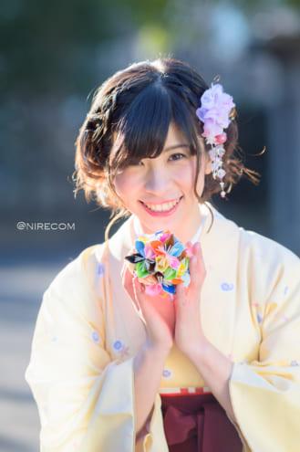 全東京写真連盟: 新春晴れ着撮影会: 金賞 「種あかし!」