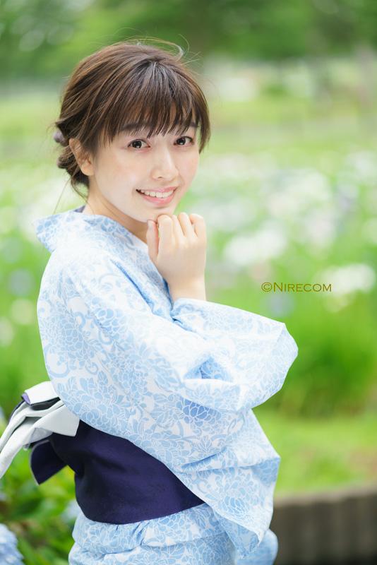 全東京写真連盟:水元公園花菖蒲撮影会: 金賞「どうかしら?」