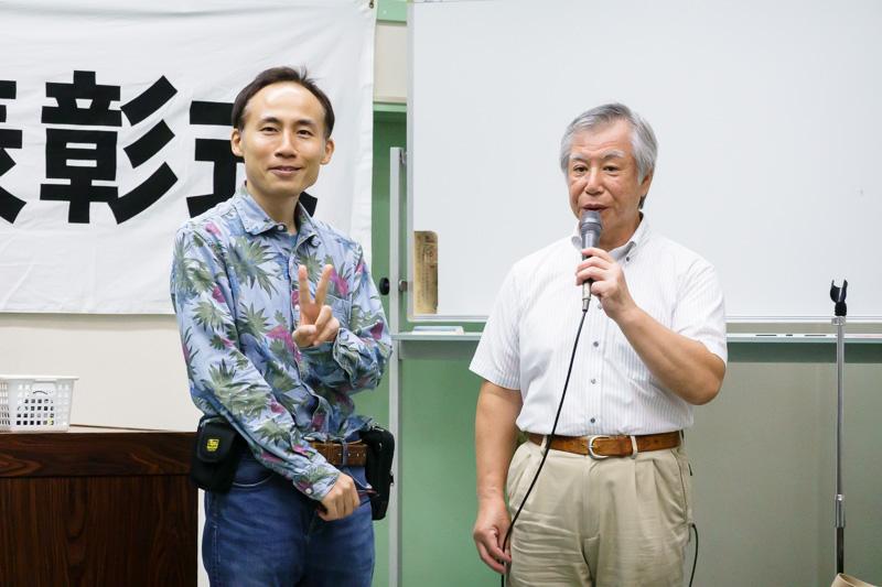 全東京写真連盟: 表彰式: 2018年下半期: 年間賞スピーチ
