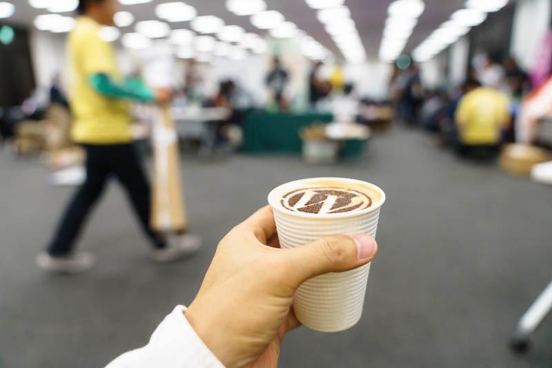 WordCamp Tokyo 2019: バリスタ: 乾杯