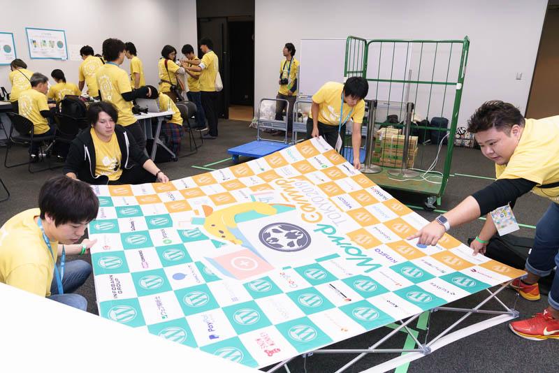 WordCamp Tokyo 2019: 準備風景