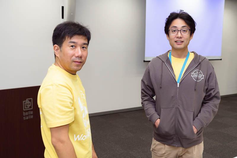 WordCamp Tokyo 2019: 加藤さん, 西川さん